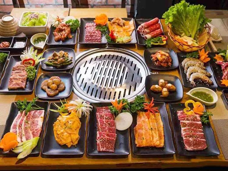 các món nướng Hàn Quốc