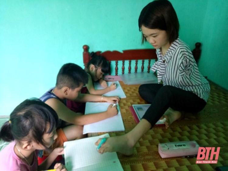 Lê Thị Thắm mở lớp dạy tiếng anh miễn phí.