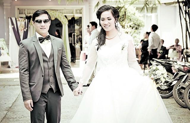 Ảnh cưới của vợ chồng Hữu Cảnh - Tố Nga - Ảnh: NVCC