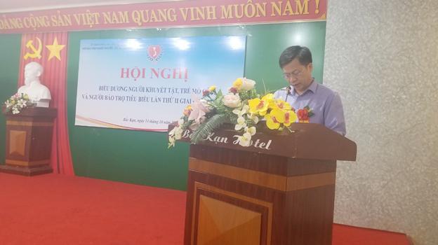 (Đồng chí Phạm Duy Hưng, Phó Chủ tịch UBND tỉnh phát biểu tại Hội nghị)