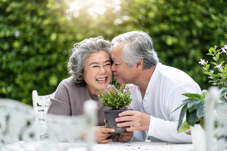Chìa khóa cho hạnh phúc tuổi già