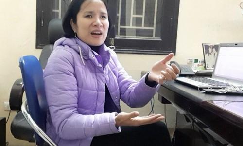 Nhanh nhẹn, hoạt ngôn, chị Đỗ Thúy Hà được chọn là Chủ tịch Hội Người mù quận Đống Đa, Hà Nội. Ảnh: Anh Nhật.