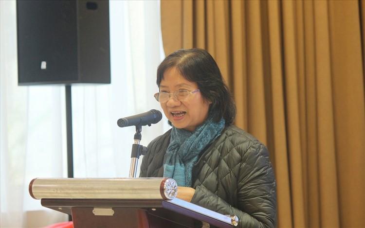 Bà Dương Thị Vân – Chủ tịch Hội Người khuyết tật TP.Hà Nội. Ảnh: Phạm Đông