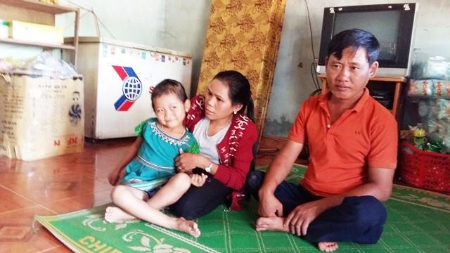 Gia đình nhỏ của chị Y Lợi và anh Mai Văn Tước