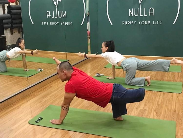 Anh Lợi thường xuyên tập luyện để duy trì sức khỏe. Ảnh: NVCC