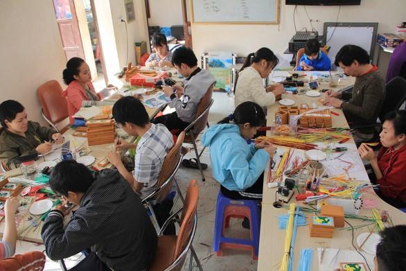 Xưởng làm thủ công Thương Thương Handmade - Ảnh: DƯƠNG LIỄU