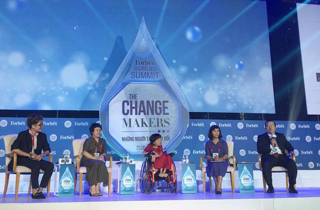 Nguyễn Thị Vân chia sẻ tại sự kiện mới đây