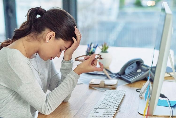 Căng thẳng khi làm việc