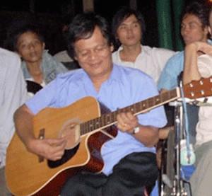 Anh Vũ Văn Đường đã đạt giải Ba tiếng hát người khuyết tật các tỉnh miền Đông Nam Bộ